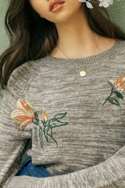 THML  Embroidered Sweater - Product Mini Image