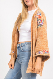 Very J  Embroidered sweater - Product Mini Image