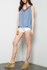 THML Clothing Embroidered Swing Tank - Side cropped