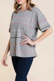 Polagram Embroidered T Shirt - Front full body