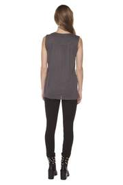 Dex Embroidered Tank - Front full body