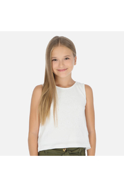Mayoral Embroidered Tank Top - Product Mini Image