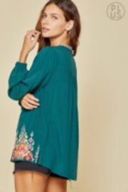 Savana Jane Embroidered Teal Beauty - Other