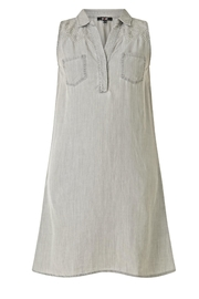 Yest Embroidered Tencel Dress - Product Mini Image