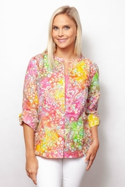 Sno Skins Embroidered Tie-Dye Shirt - Product Mini Image