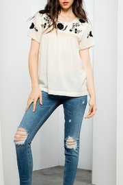 THML Clothing Embroidered Top - Product Mini Image