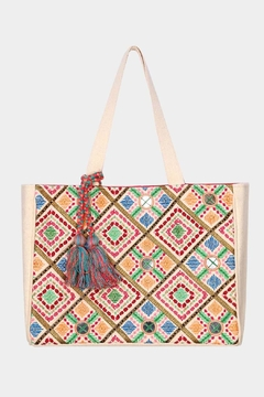 Shoptiques Product: Embroidered Tote