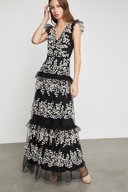 BCBG MAXAZRIA Embroidered Tulle Gown - Product Mini Image