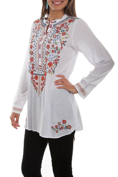 Scully Embroidered Tunic - Alternate List Image