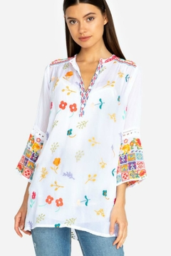 Johnny Was Embroidered Tunic - Product List Image