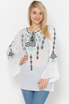 Apparel Love Embroidered Tunic - Product List Image
