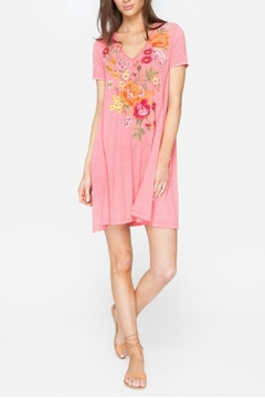 Johnny Was Embroidered Tunic Dress - Product List Image