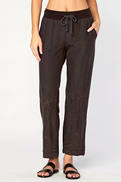 Shoptiques Product: Embroidered Twill Pant