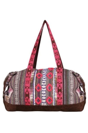 America & Beyond Embroidered Weekender Bag - Product Mini Image