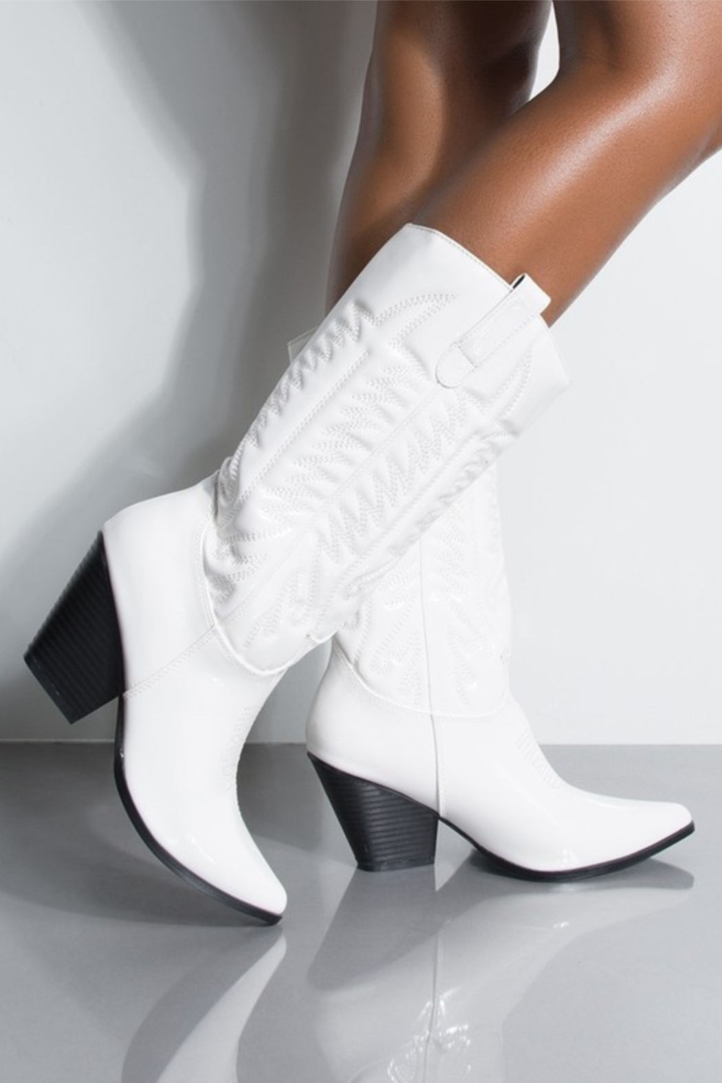 Thistle & Clover  Embroidered Western Boot - Main Image