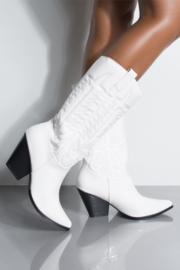 Thistle & Clover  Embroidered Western Boot - Product Mini Image