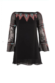 Vintage Collection Embroidered Western Tunic - Front cropped