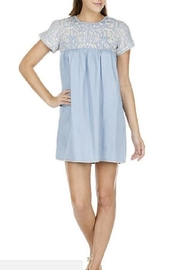 Joy Joy Embroidered Yoke Dress - Product Mini Image