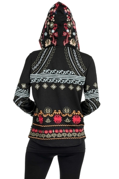 Adore Apparel Embroidered Zip Hoodie - Alternate List Image