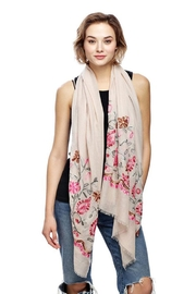 Nadya's Closet Embroidery Flower Scarf - Product Mini Image