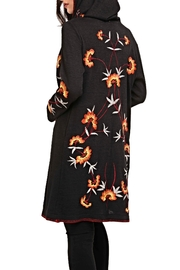 Adore Embroidery Hoodie Cardigan - Front full body