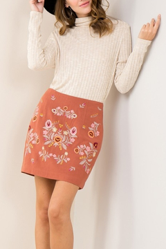 Shoptiques Product: Embroidery Trend skirt