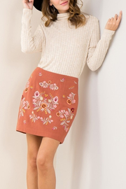Entro  Embroidery Trend skirt - Product Mini Image