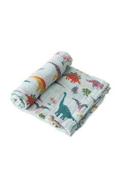 Little Unicorn Embroidosaurus Swaddle - Alternate List Image