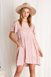 BaeVely Embroiled Dress - Front full body