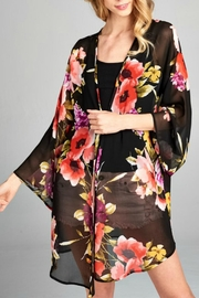 Emerald Bell Kimono - Front cropped