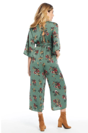 Saltwater Luxe EMERALD BLOOMS JUMPER - Front full body