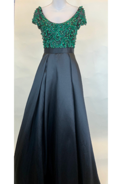 Shoptiques Product: EMERALD BODICE GOWN