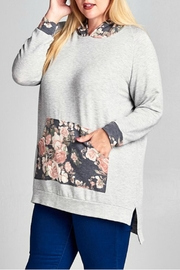 Emerald Floral Hoodie - Other