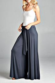 Shoptiques Product: Grey Palazzo Pant