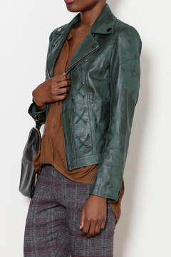 INSIGHT NYC Emerald Lace Up Jacket - Product List Image