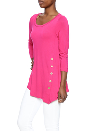 Emerald Bella Pink Button Tunic - Product Mini Image
