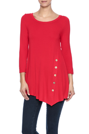 Emerald Bella Red Button Tunic - Product Mini Image