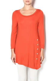 Emerald Rust Button Front Tunic - Product Mini Image