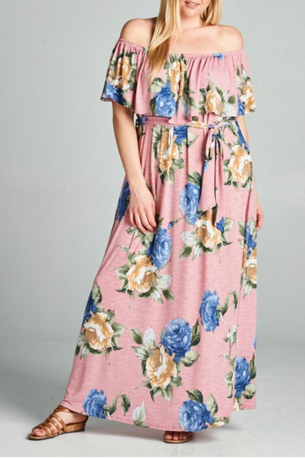 EMERALD COLLECTION Floral Maxi Dress - Main Image