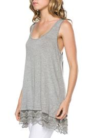 EMERALD COLLECTION Lace Tank Tunic - Product Mini Image