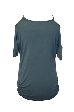 EMERALD COLLECTION Open Slit Tunic Top - Alternate List Image