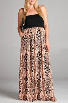 EMERALD COLLECTION Peachy Pocket Maxi Dress - Product List Image