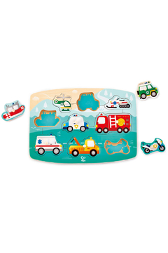 Hape Emergency Peg Puzzle - Alternate List Image
