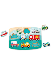 Hape Emergency Peg Puzzle - Product Mini Image