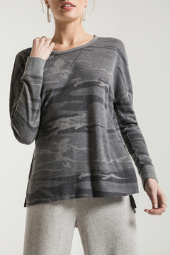 Shoptiques Product: Emerson Camo Thermal Top