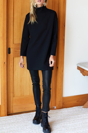 Emerson Fry Edie Ponte Turtleneck Dress - Other