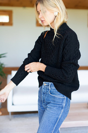 Emerson Fry Fisherman Knit Sweater - Side cropped