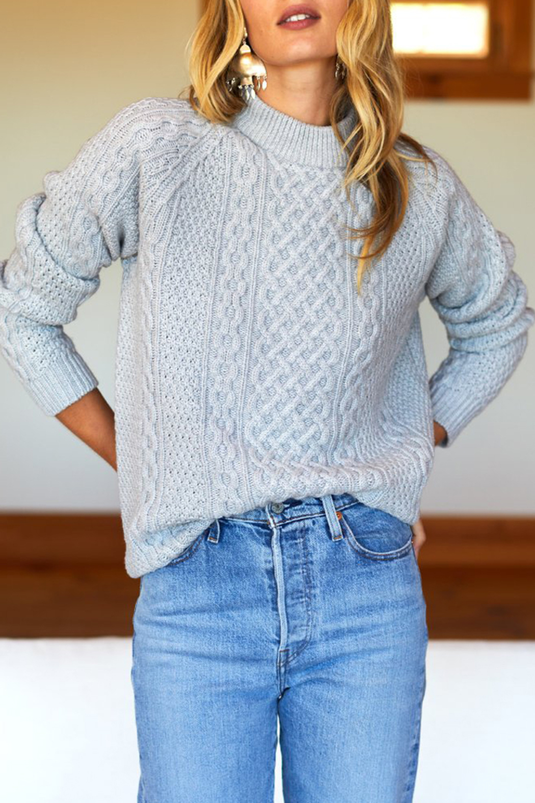 Emerson Fry Fisherman Knit Sweater - Main Image