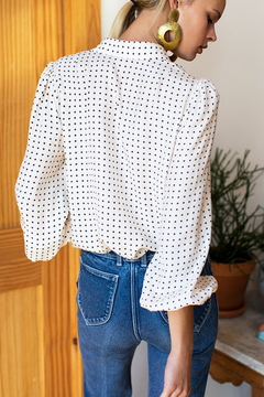 Emerson Fry EMERSON FRY NECK TIE BLOUSE - Alternate List Image