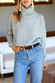 Emerson Fry Organic Cotton Turtleneck Sweater - Product Mini Image